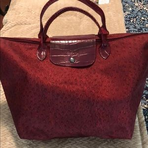 NWOT Longchamp Le Pliage Bag